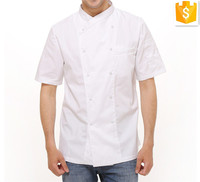 Customized High Quality Breathable Uniforms chef Cook Wear Chef Jacket