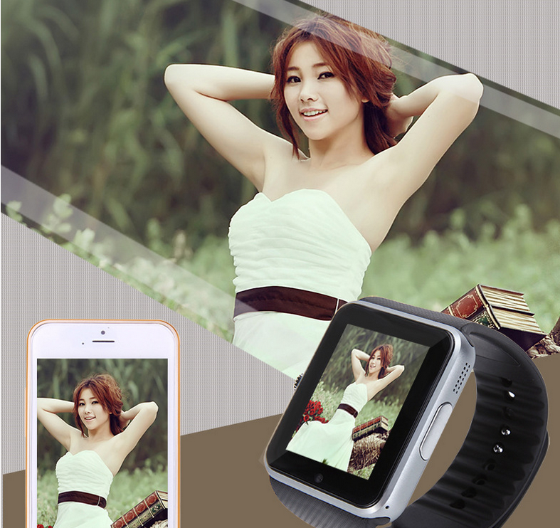 Wholesale Hot Selling GT08 Smart Watch ,GT08 Bluetooth Smart Watch Support Sim Card and Memory Card