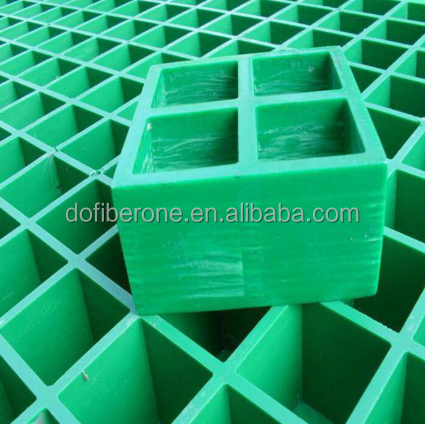 FRP grating light weight high strength plastic grid Made in China