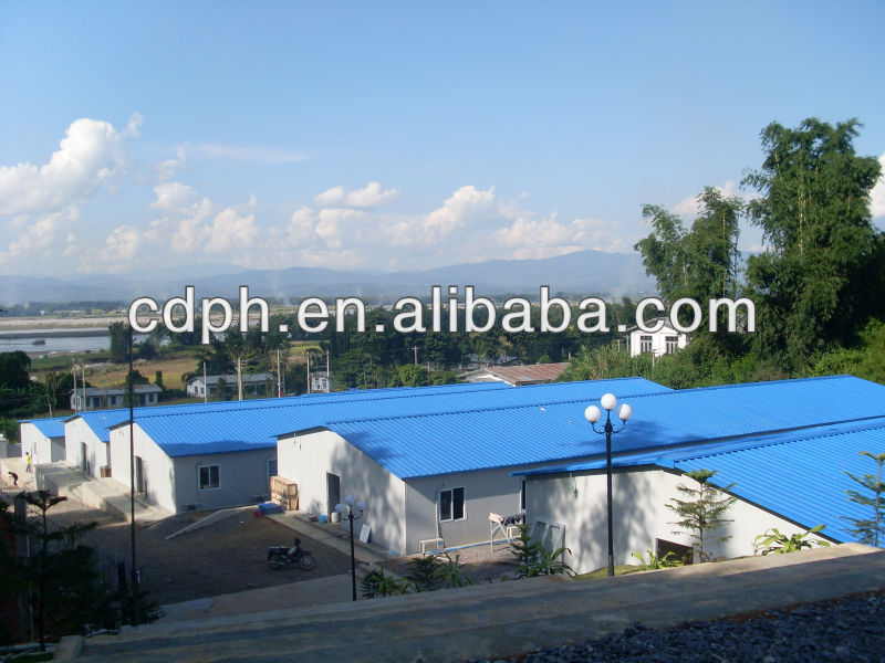 galvanizing structure plant, prefabricated steel frame house