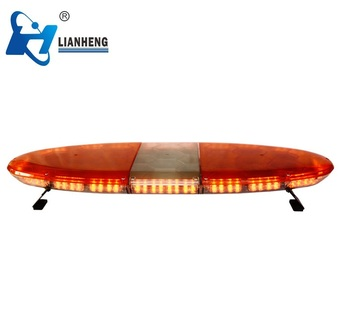 Ambulance led amber oval warning strobe lightbar