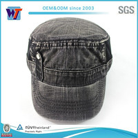 high quality jeans washed military cap and hat new