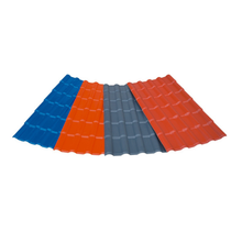 Flat Roof Tiles/colorful stone coated metal roof tile