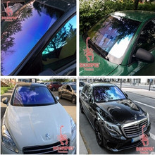 High IR 80% UV 99% protective Car window glass chameleon car tint film