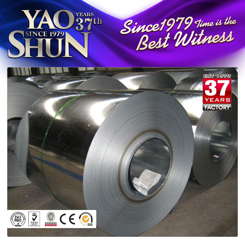 Zero spangle cold rolled galvanized steel strip coil metal roofing sheets
