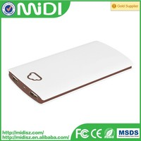 smart power bank 10400mAh battery power bank with manual for power bank