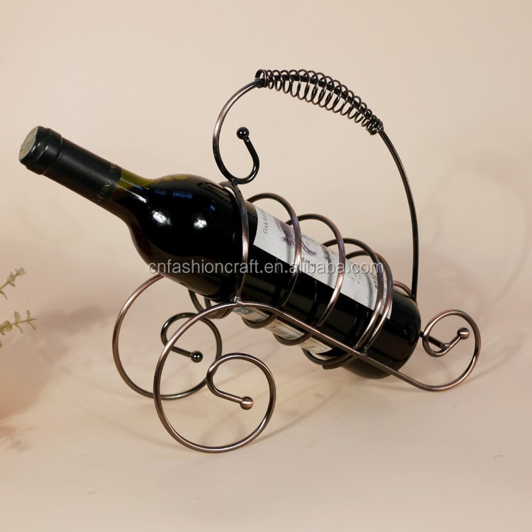 Dinning Room Decoration Gifts Metal Wine