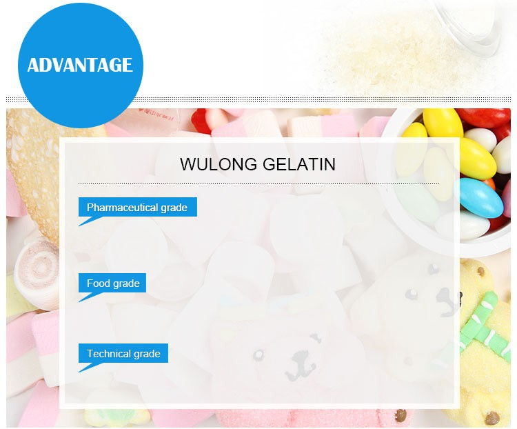 hot sell bone gelatin food grade