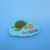3D Turtle pvc fridge magnet coron palawan travel souvenir gifts