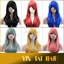 Heat Resistant Bang Long body WavyCosplay Anime Wig Party Hair Cosplay Wig 2015