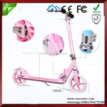 aluminium adult push dirt flicker folding scooter for adults