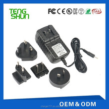 alibaba interchangeable plug multi charger 5v 1a 1.5a 2a power supply adapter