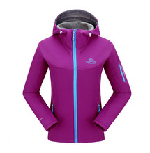 2017 Sports Running Style Women Stand Collar Softshell Jacket