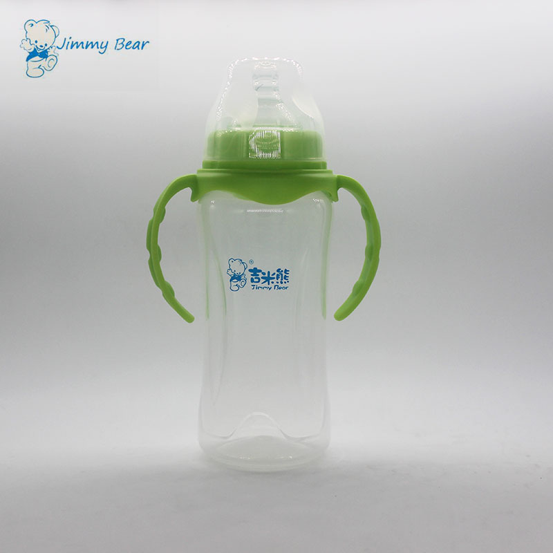 Cheap plastic anti colic baby bottle manufacturing