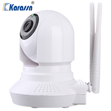 64G SD Card Supported Home Indoor Infrared Megapixel Wifi IP Camera