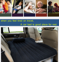 Travel Products-inflatable Car Bed/Inflatable Car Air Bed/Car Inflatable Mattress