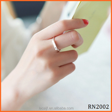 Perfect Solid New Design Fashion Sterling Silver Stacking Plain 925 sterling silver ring blanks