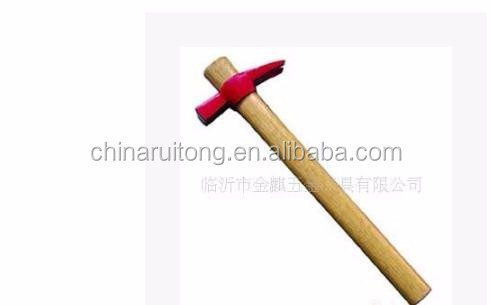 250g-750g Italian type claw hammer with wooden handle