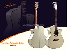 best quality China wholesale high end handmade Level A custom acoustic guitar
