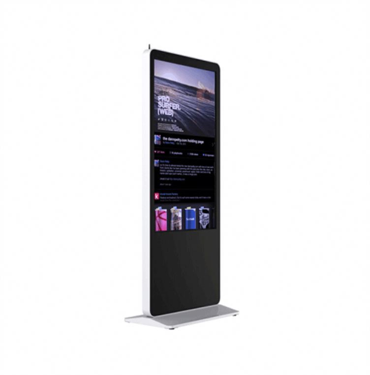 55 inches Cheap Price ads video kiosk display