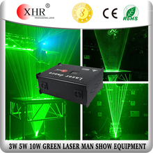 3000mw 3W Green Laserman,Disco DJ Party Music Dance Indoor Laser Man Show