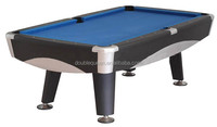 hand carved pool table with 3pcs 25mm slate top
