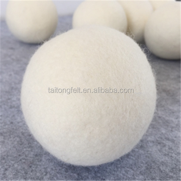 amazon hot sale accept Paypal payment organic sheep wool felt ball