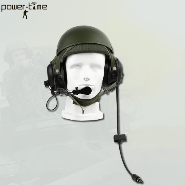 CVC Military Army Pilot Helmet with Headset