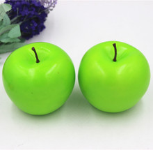 Artificial Decorative Fruit Simulated Fake Apple Green Apple