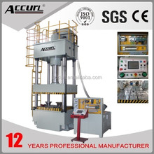 Four-Column Hydraulic Press Machine HP-80T from Accurl with CE and NR12 Certificate