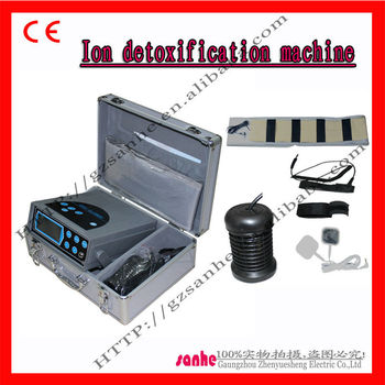 ionic detoxification machine