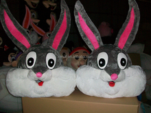 HI CE Cartoon Adult Funny and Cute Rabbit Costume Mascot Head