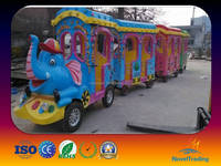 Tourist train ride set outdoor equipment for park