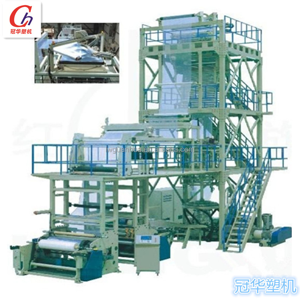 automatic pvc packaging blown film extrusion machine