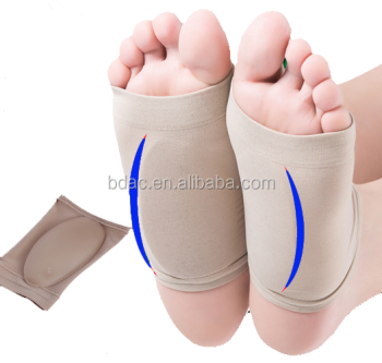 Elastic Bandage Flatfoot Orthotics Arch Support Gel Socks