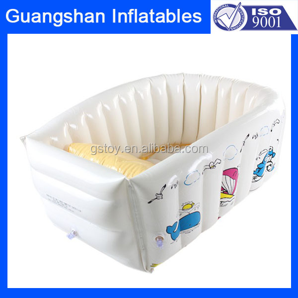Protective Plastic Inflatable Bathtub For Baby