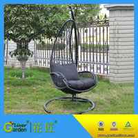 cheap living room swing outdoor hanging chair cushion