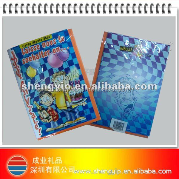whole sale card recordable greeting card electronic greeting card with custom sound and printing