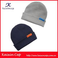 Hot sale cheap custom beanie hat