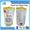 Store 2.25kg of whey powder in the bags stand up plastic bags with zipper