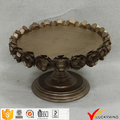 Wholesale Gold Antique Metal Cake and Cupcake Stand