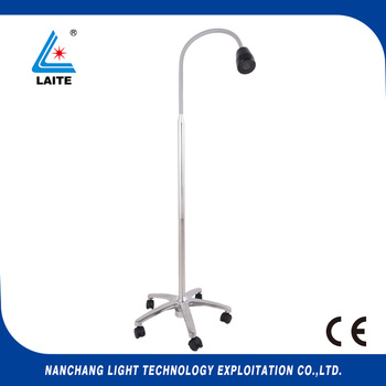 Global Certificated JD1100 3w led surgical light with flexible goose neck