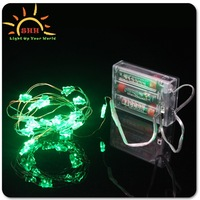 Tree shape 100LED Silver Wire LED Fancy Battery String Light for Hotel Decoration/Micro LED string light / wedding party light