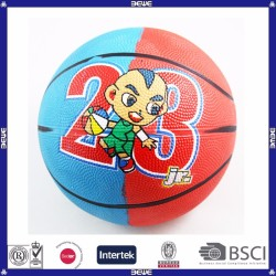 high quality custom made basketballs for kids