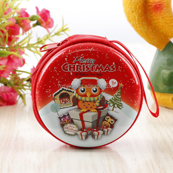 Christmas  Storage Box Tree Hanging Box Children Toys Coins Headset Line Storage Box