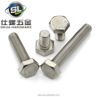 Stainless steel hex nut bolt cap screw in bolts