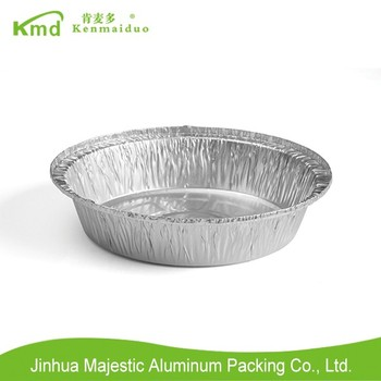 8'' inch round container Disposable Pollution-free Food Aluminum Container