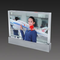 High quality cheap 2014 acrylic photo frame calendars