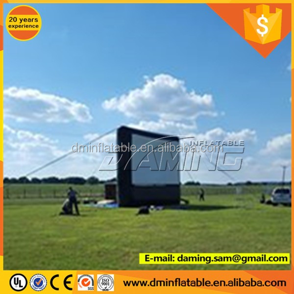 inflatable Movie screen for projection,inflatable projector screens,inflatable rear projection screen