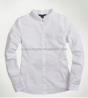 OEM school uniforms long sleeve T/C dress shirts for kids for boys school age